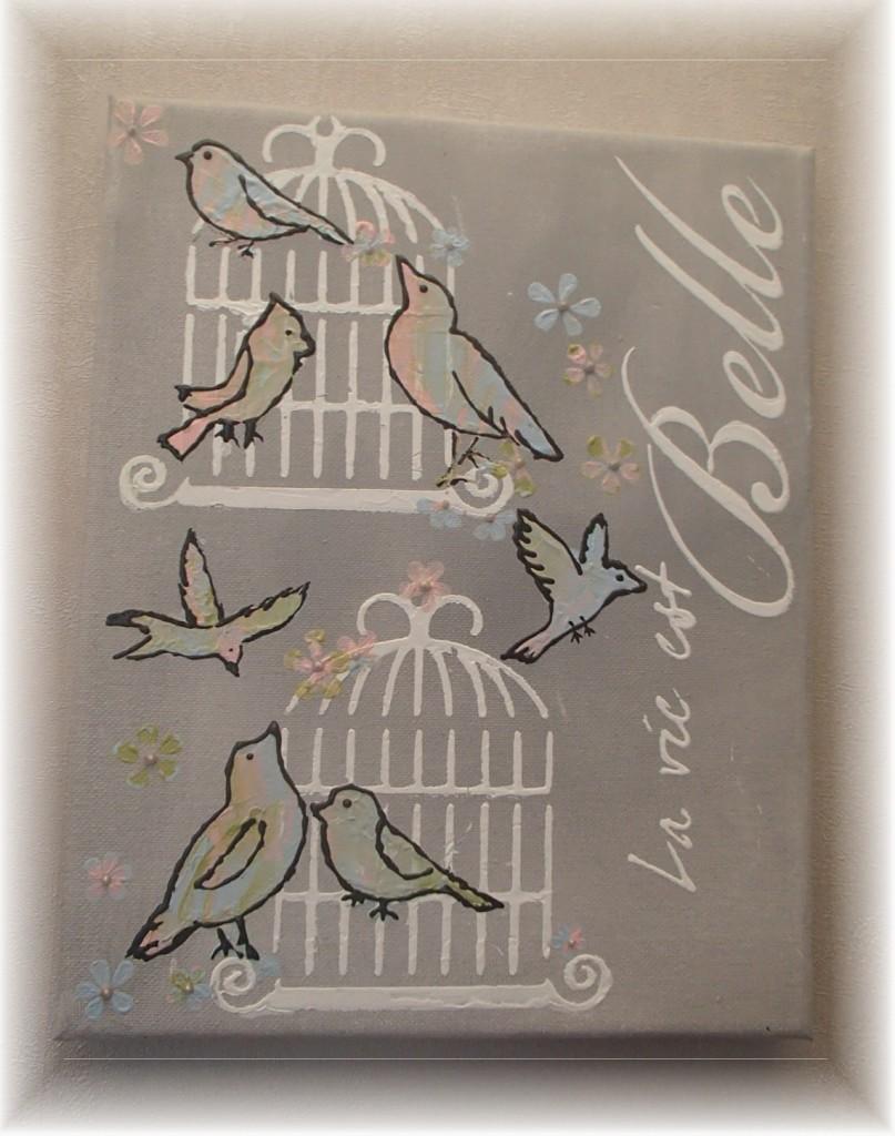 Tableau Oiseaux