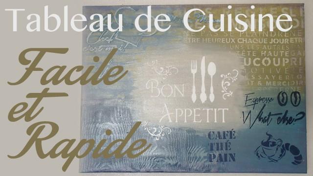 R aliser un tableau pour votre cuisine id esd copeinture - Tableau design pour cuisine ...