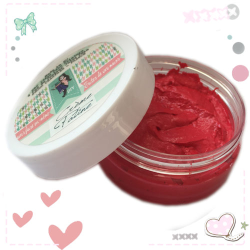 CREME A CIRER ROUGE